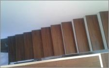 trepte lemn stratificat
